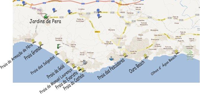 Holidays in Armacao de Pera